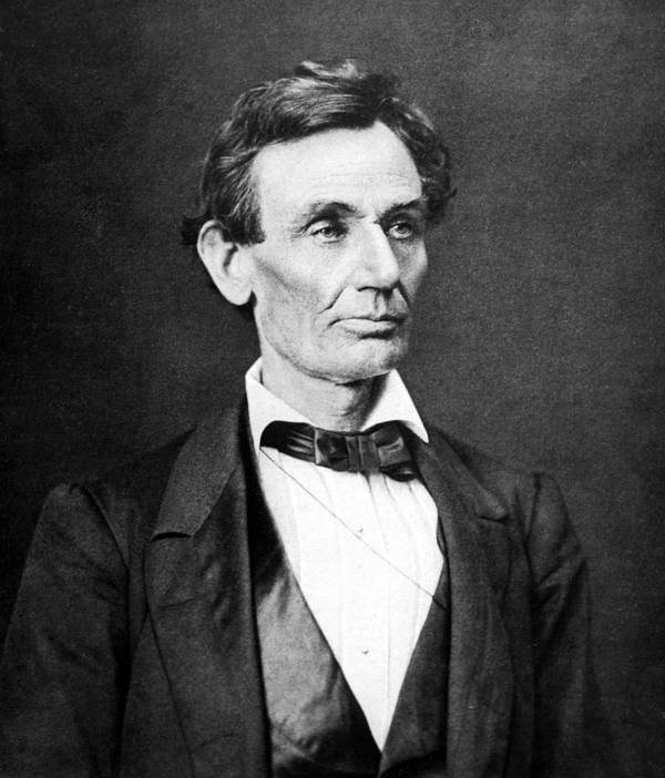 Abraham Lincoln Poster featuring the photograph Mr. Lincoln by War Is Hell Store