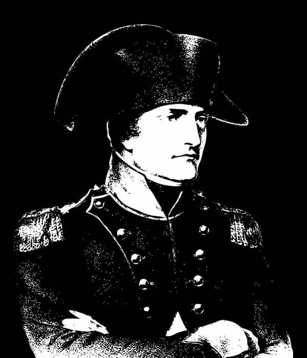 Napoleon Poster featuring the digital art Napoleon Bonaparte by War Is Hell Store