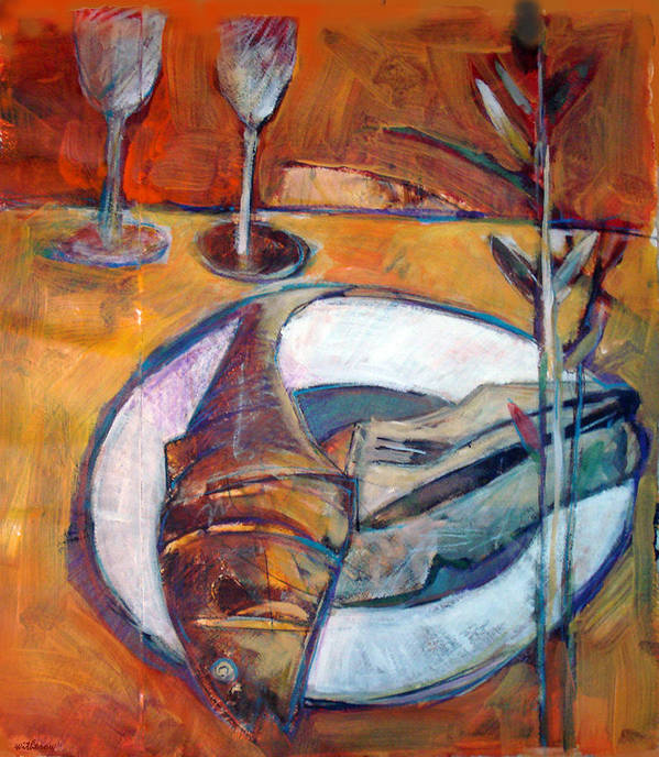 Still Life Poster featuring the digital art Reheated by Dale Witherow