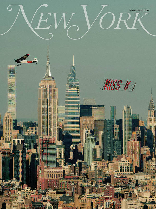 New York Magazine Poster featuring the photograph Miss U by New York Magazine