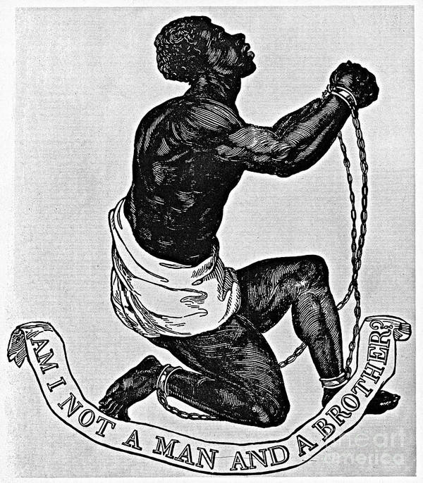 1835 Poster featuring the photograph Slavery: Abolition, 1835 by Granger