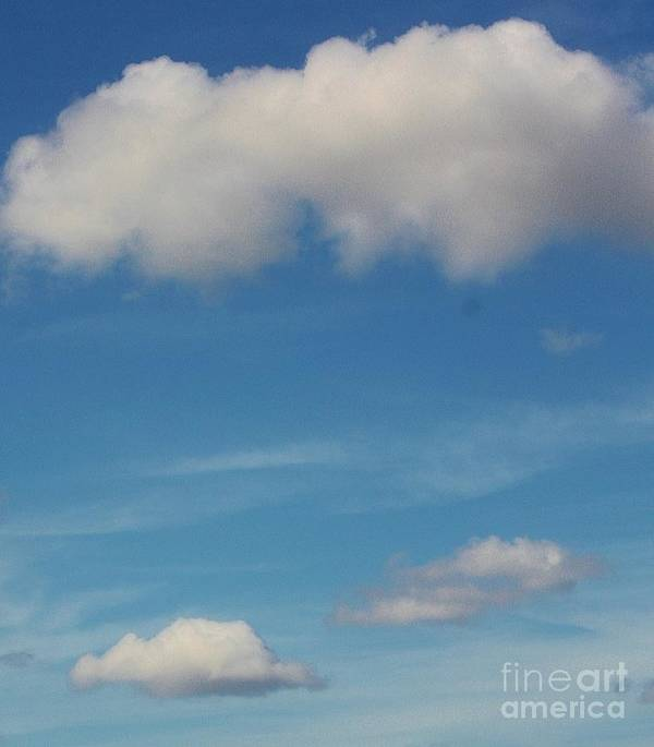Clouds Poster featuring the photograph Cloud 9 by Lora Wood