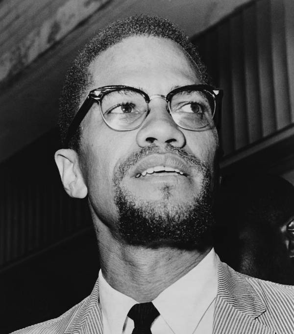 History Poster featuring the photograph Malcolm X 1925-1965 In 1964, The Year by Everett