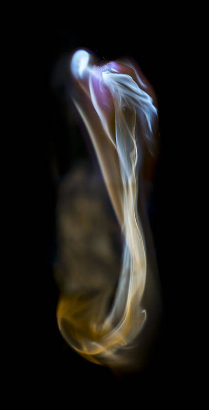 Ignition Poster featuring the photograph Flowing Forth by Steven Poulton
