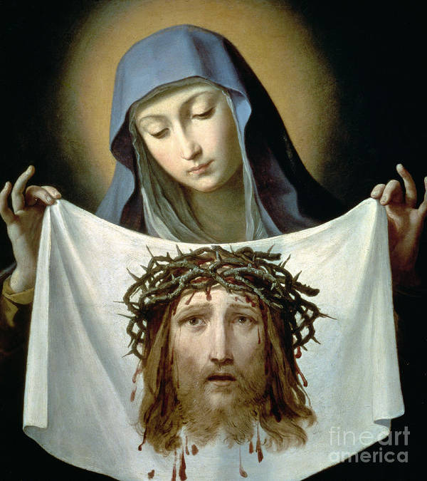 Son Of God Poster featuring the painting Saint Veronica by Guido Reni