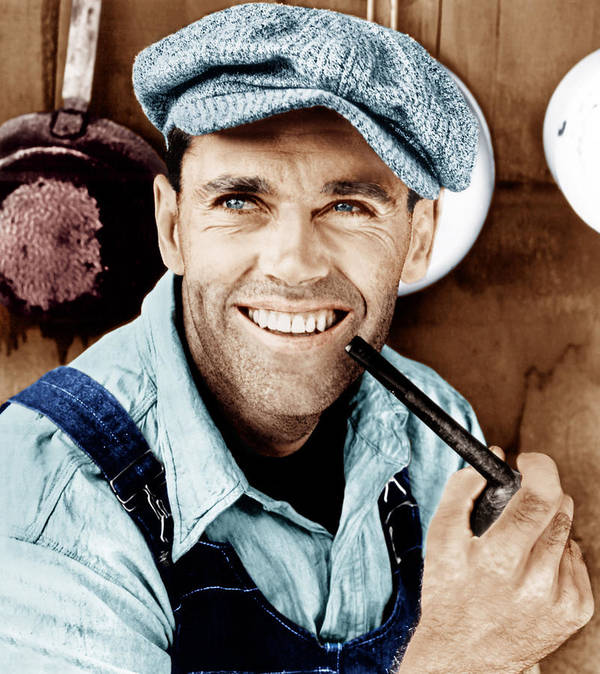 1940 Movies Poster featuring the photograph The Grapes Of Wrath, Henry Fonda, 1940 by Everett