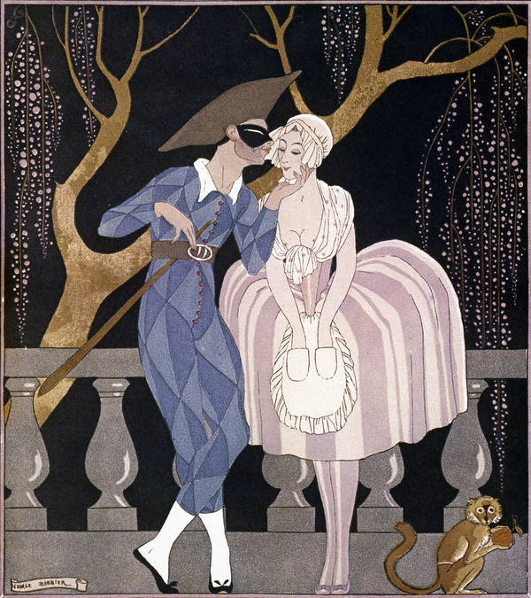 1922 Poster featuring the photograph Barbier: Artful Servant by Granger