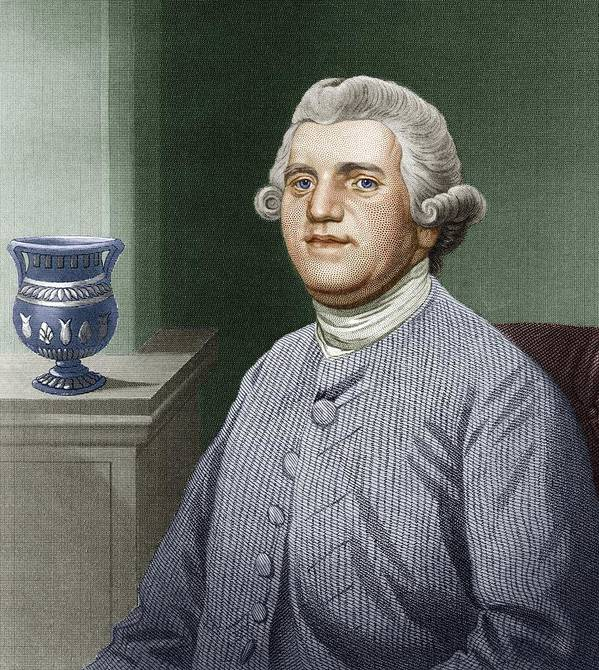 Josiah Wedgwood Poster featuring the photograph Josiah Wedgwood, British Industrialist by Sheila Terry
