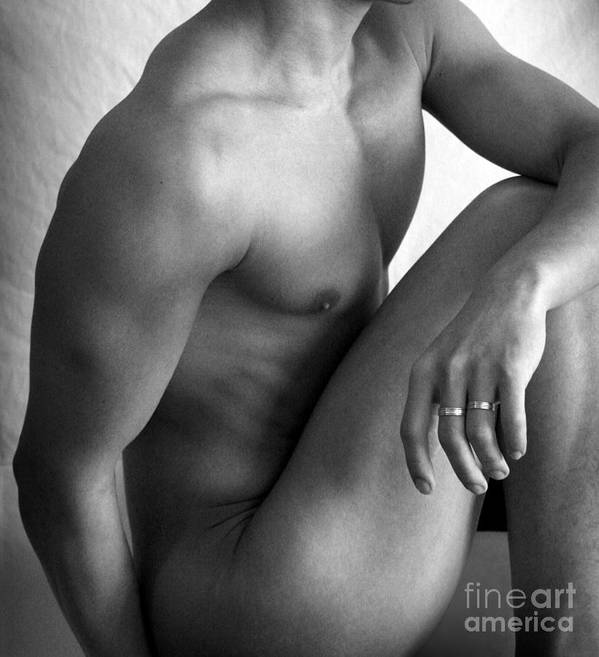 Gay Poster featuring the photograph Simply by Mark Ashkenazi