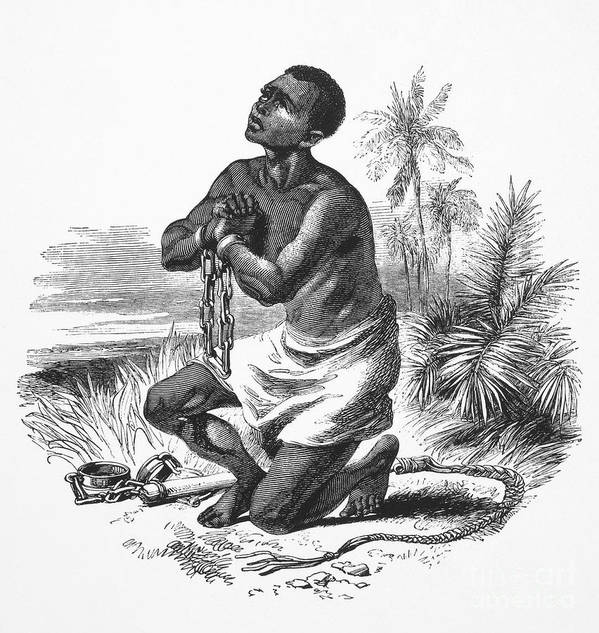 19th Century Poster featuring the photograph Slavery: Abolition by Granger