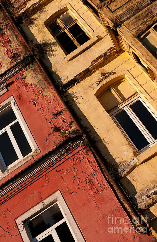 Istanbul Poster featuring the photograph Beyoglu Old Houses 03 by Rick Piper Photography