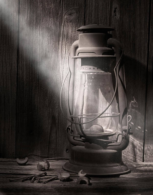 Lantern Poster featuring the photograph Yesterday's Light by Tom Mc Nemar