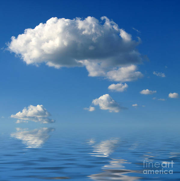 Beautiful Clouds Poster featuring the photograph beautiful Clouds by Boon Mee