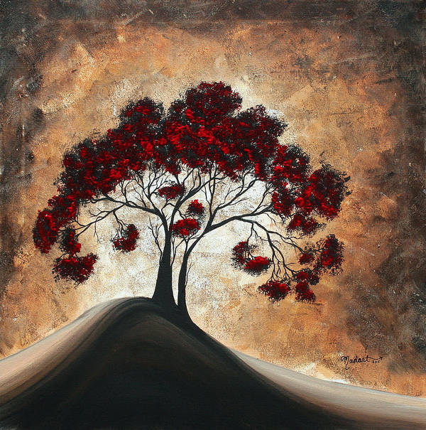 Wall Poster featuring the painting Divine Intervention II By Madart by Megan Duncanson