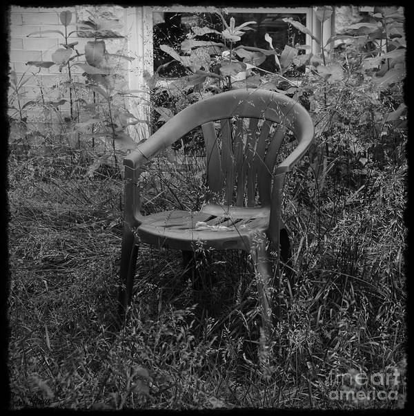 Chair Poster featuring the photograph I Used To Sit Here by Luke Moore
