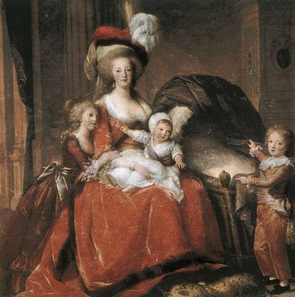 Square Poster featuring the photograph Vigee-lebrun, Elisabeth 1755-1842 by Everett
