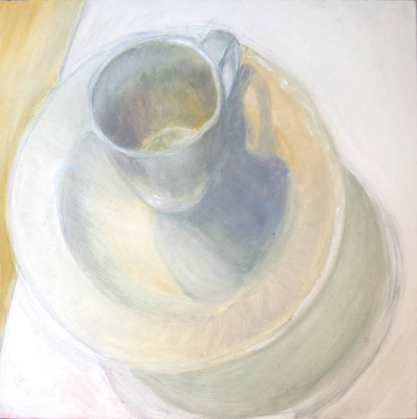 Still Life Poster featuring the painting Light Study Number Five by Gary Deslauriers