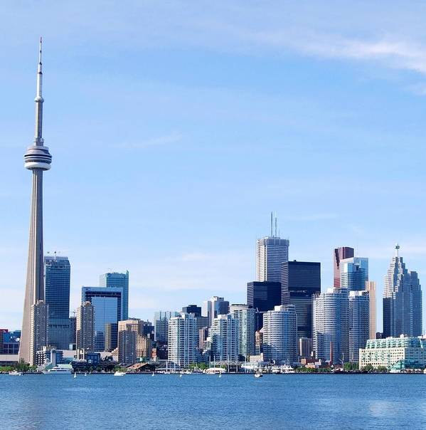 Architecture Poster featuring the photograph Toronto Skyline Canada by Lissandra Melo
