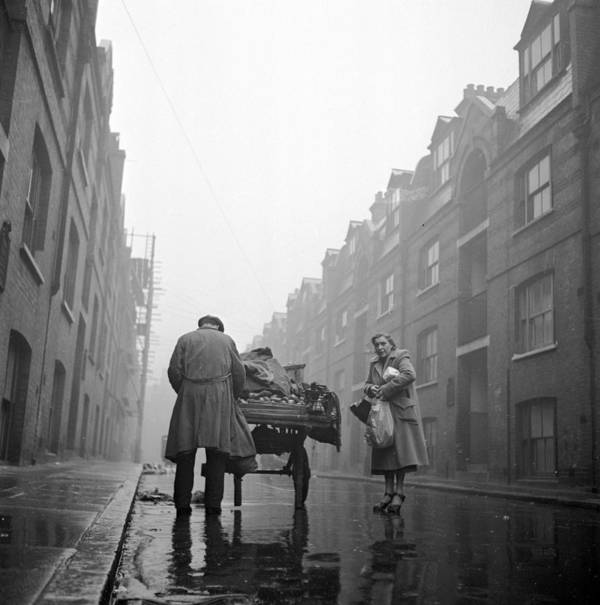 Adult Poster featuring the photograph Whitechapel Street by John Chillingworth