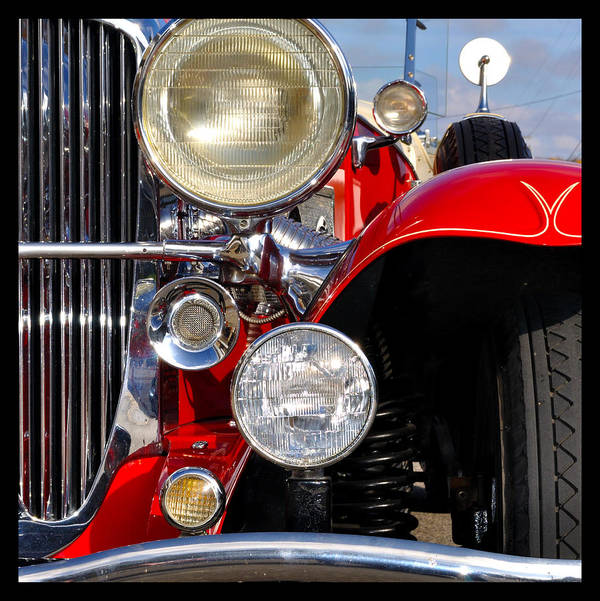 Car Poster featuring the photograph Duesenberg by Tim Nyberg