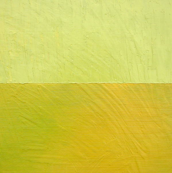 Pea Poster featuring the painting Green And Greenish by Michelle Calkins