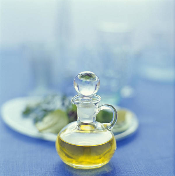 Food Poster featuring the photograph Olive Oil by David Munns