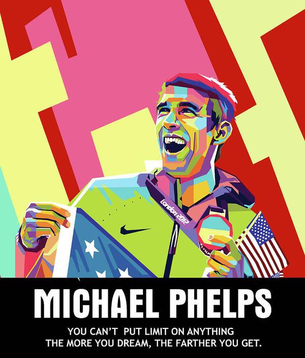 Michael Phelps by Andree Soka