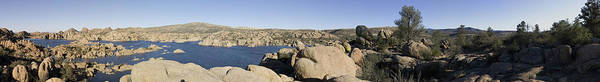 Panorama Poster featuring the photograph Watson Lake by Austin Troya