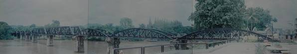 Bridge Poster featuring the photograph The Bridge On The River Kwai by Rob Hans