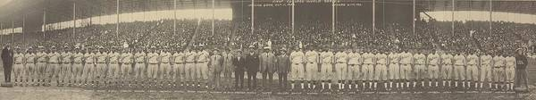 History Poster featuring the photograph 1924 Negro League World Series. Players by Everett