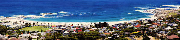 Camps Bay Poster featuring the photograph Camps Bay Beach by Fabrizio Troiani