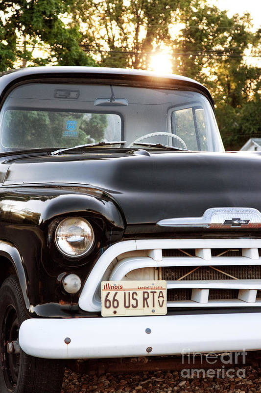 Chevy Truck Poster featuring the photograph Chevy Truck by John Rizzuto