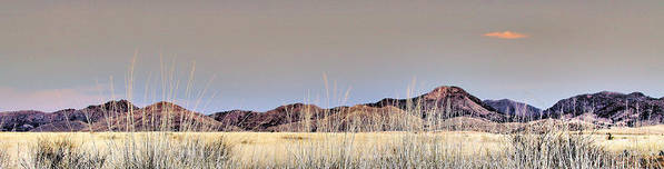Landscape Poster featuring the photograph Chiracahuas Panorama by Sharon Broucek