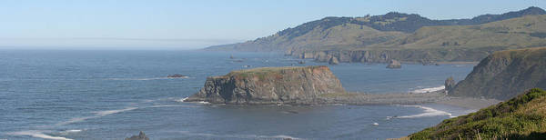 Landscape Poster featuring the photograph Coastal Butte by Gregory Jeffries