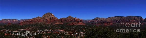 Sedona Poster featuring the photograph Airport Mesa 3 by Trish H