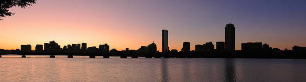Boston Poster featuring the photograph Boston Skyline by Juergen Roth