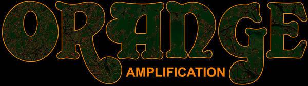 Biryukoff Poster featuring the digital art Orange Amplification Outline Only by Alexei Biryukoff