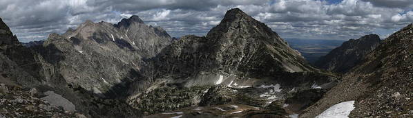 Paintbrush Divide Poster featuring the photograph Paintbrush Divide by Raymond Salani III