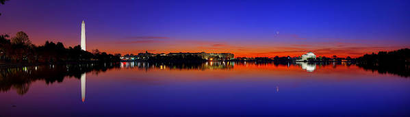Dc Poster featuring the photograph Tidal Basin Sunrise by Metro DC Photography