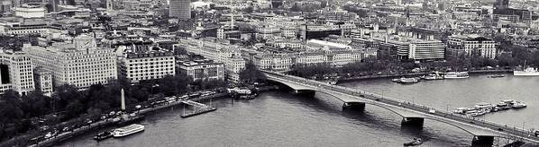London Poster featuring the photograph London by Sharon Lisa Clarke