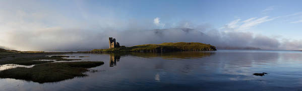 Ancient Poster featuring the photograph Ardvreck Castle by Derek Beattie