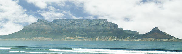 Cape Town Poster featuring the photograph Table Mountain by Tom Hudson
