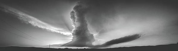 Landscape Poster featuring the photograph Lp Supercell by Krista Giese