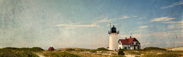 Race Point Light Poster featuring the photograph Race Point Light by Bill Wakeley