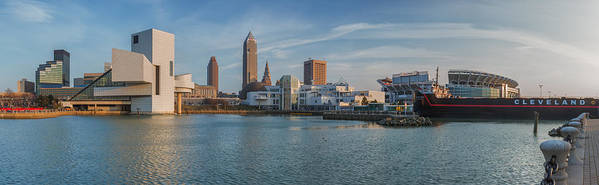 Cleveland Poster featuring the photograph Late Afternoon Rock And Roll by Jennifer Grover