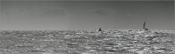 Sailingg Poster featuring the photograph Sailing Home by Nigel Jones