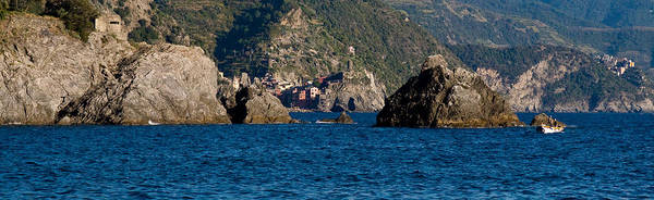 Boat Poster featuring the photograph Cinque Terre Coast by Carl Jackson