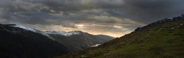 Landscape Poster featuring the photograph Shafts Of Sunlight by Colin Bruce