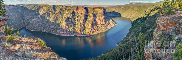 Flaming Gorge Poster featuring the photograph Flaming Gorge Utah by Abe Pacana