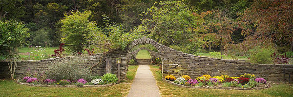 Indiana Landscapes Poster featuring the photograph Gateway To The Garden by Wendell Thompson